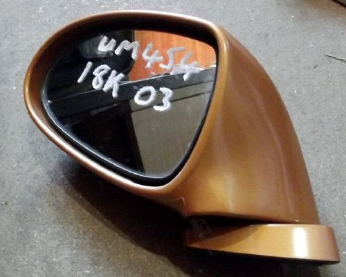 Door Mirror, Mazda MX-5 mk2, l/h, 18K Gold, left hand, USED 03